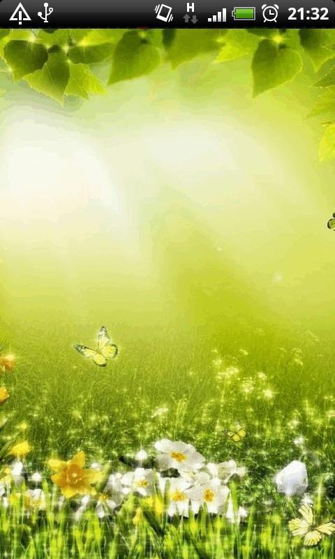 Application Letter Download, Spring Flower Garden Live Wall, Application Letter Download