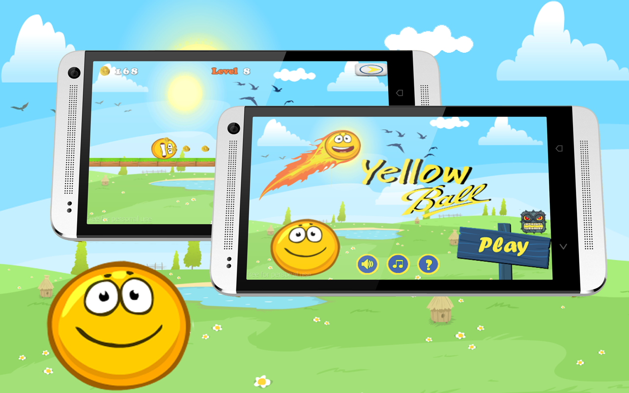 Yellow Ball Rush 1 0 APK Download - Android Arcade Games