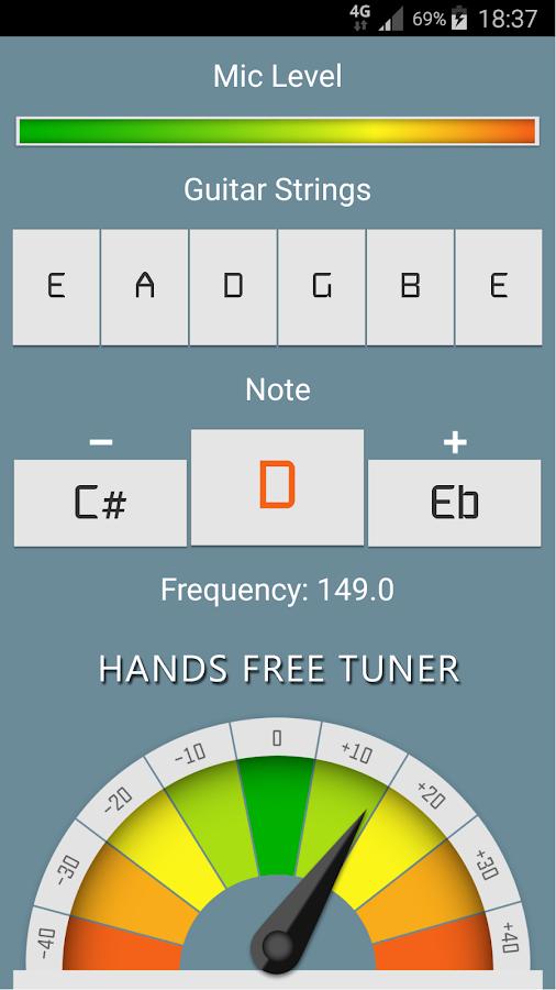 Guitar Tuner Pro 10 5 APK Download - Android Music & Audio التطبيقات