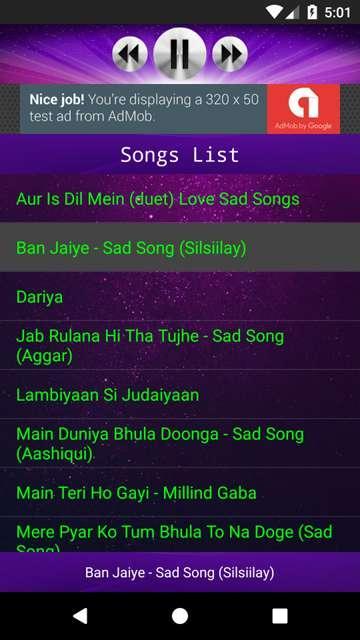 Hindi Sad Songs 1 0 APK Download - Android Music & Audio ئاپەکان