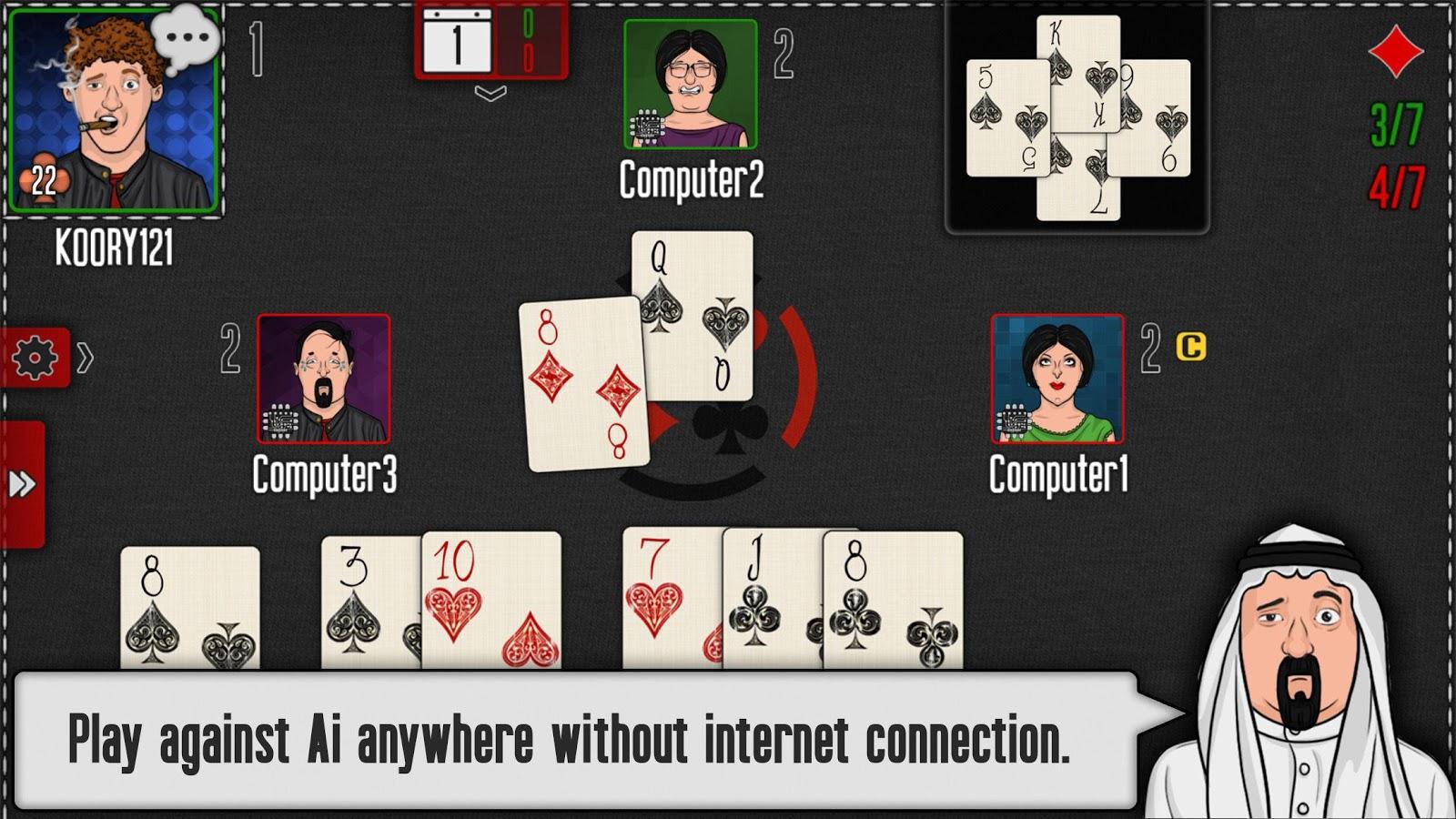 pocket tarneeb 2 2 2 apk download android card games