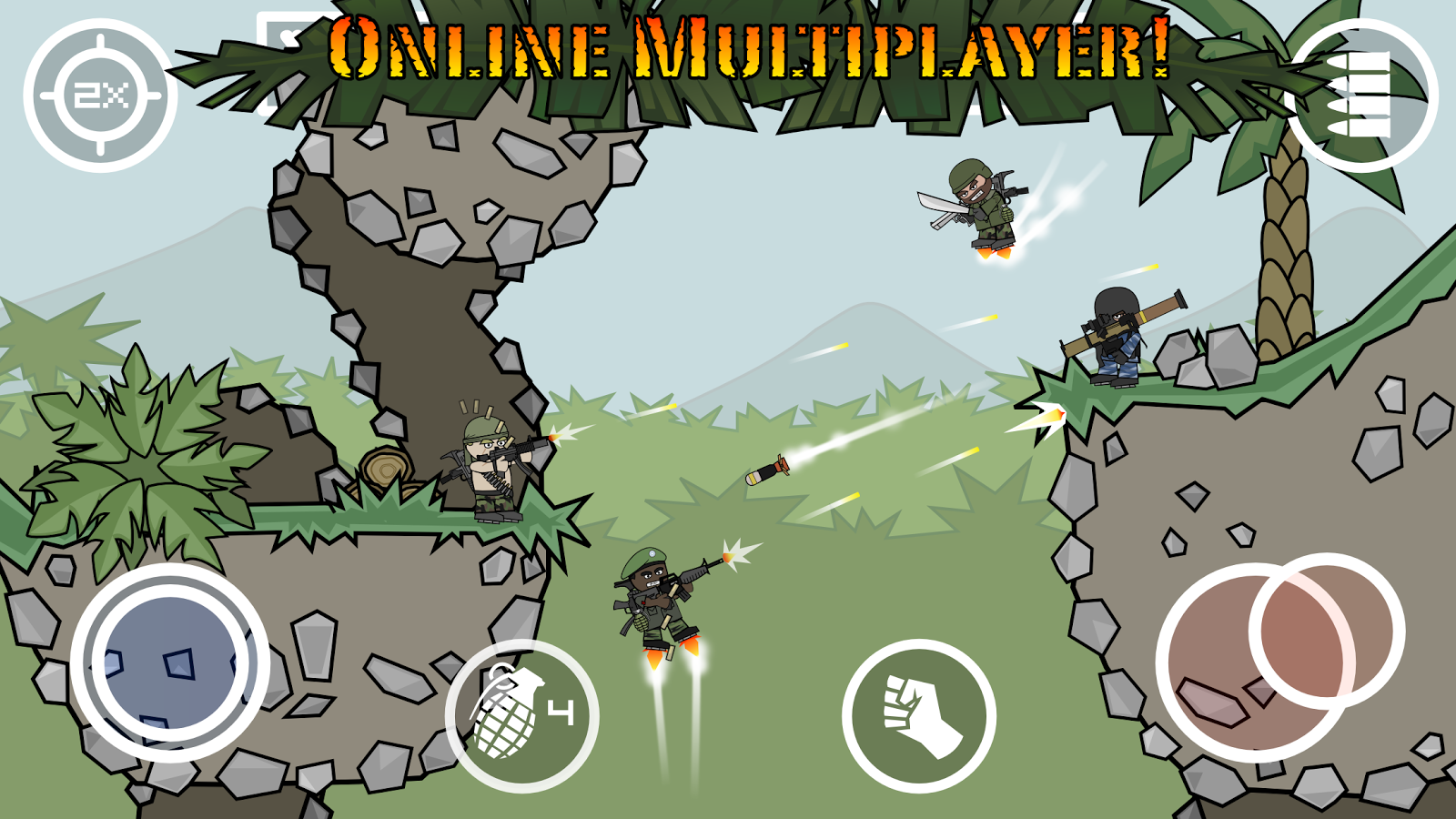 doodle army 2 mini militia apk download android action games