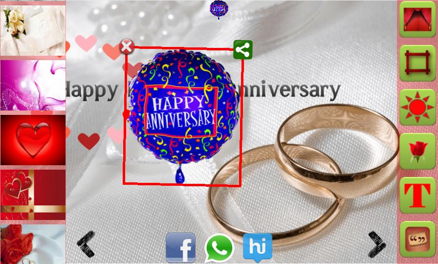 online anniversary card maker