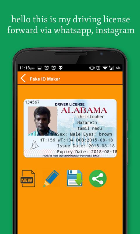 ID Card Maker 1.2 APK Download - Android Social Apps