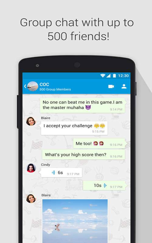 Imo group chat  🐈 How to Leave a Group on imo for Android