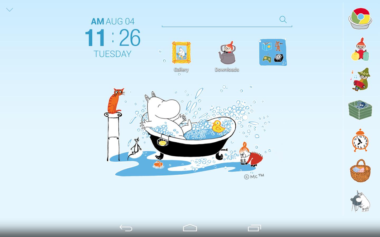 Bathroom specialists product gallery baths downloader -  Moomin Bath Time Atom Theme 1 0 Screenshot 6
