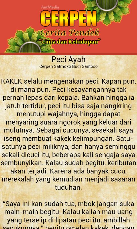 Cerpen Cinta Sedih Indonesia 1 2 Apk Download Android Books