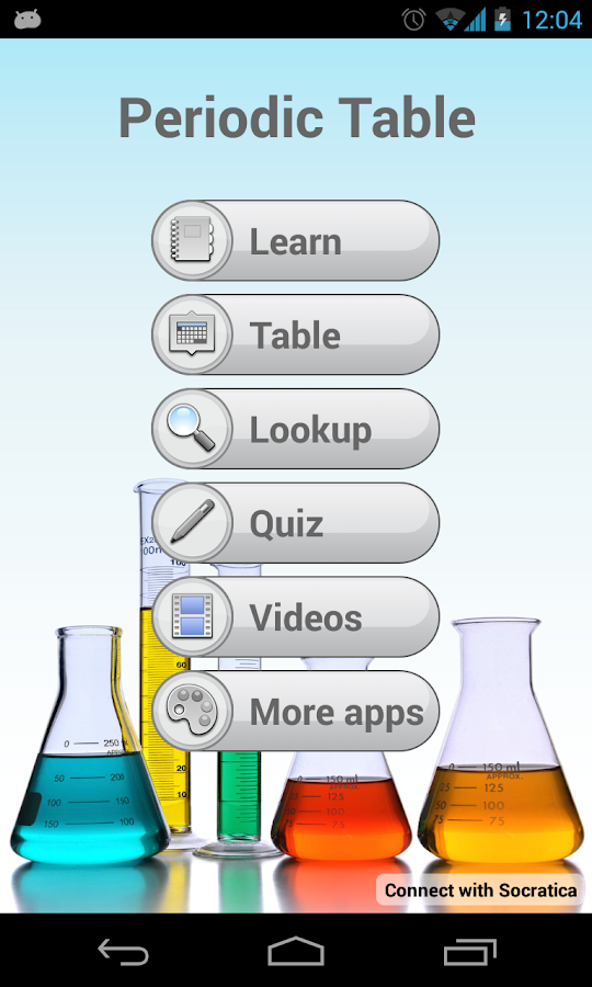 Periodic table 230 apk download android books reference apps periodic table 230 screenshot 1 urtaz Choice Image