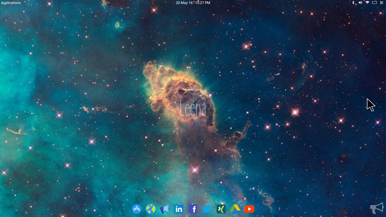Download aplikasi graffiti creator java -  Leena Desktop Ui Multiwindow 0 4 2 Screenshot 8