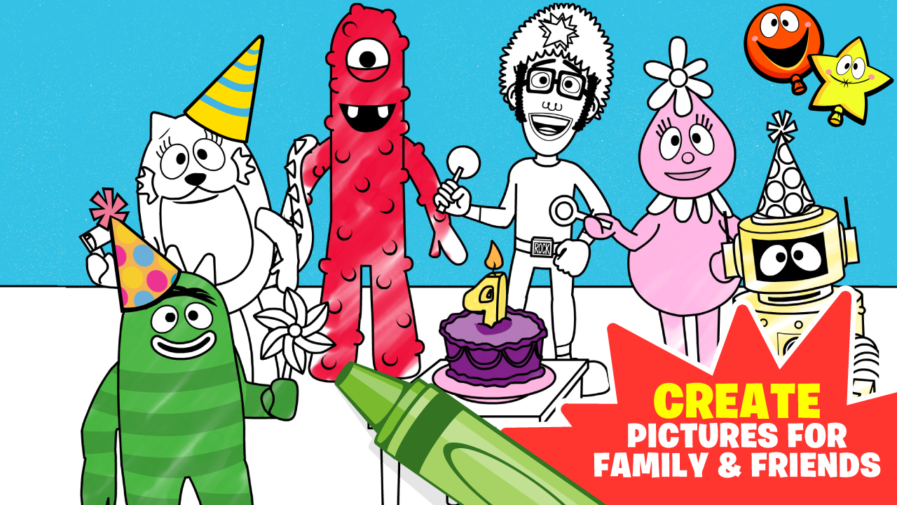yo gabba gabba birthday party 1 1 1 apk download android