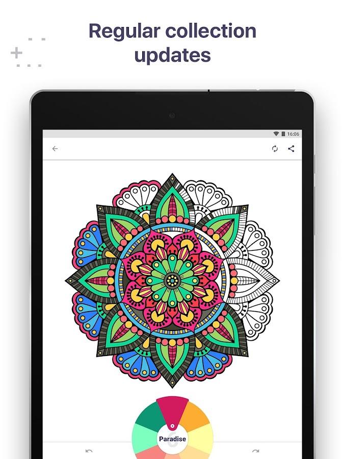 Coloring Book For Me Mandala Screenshot 10