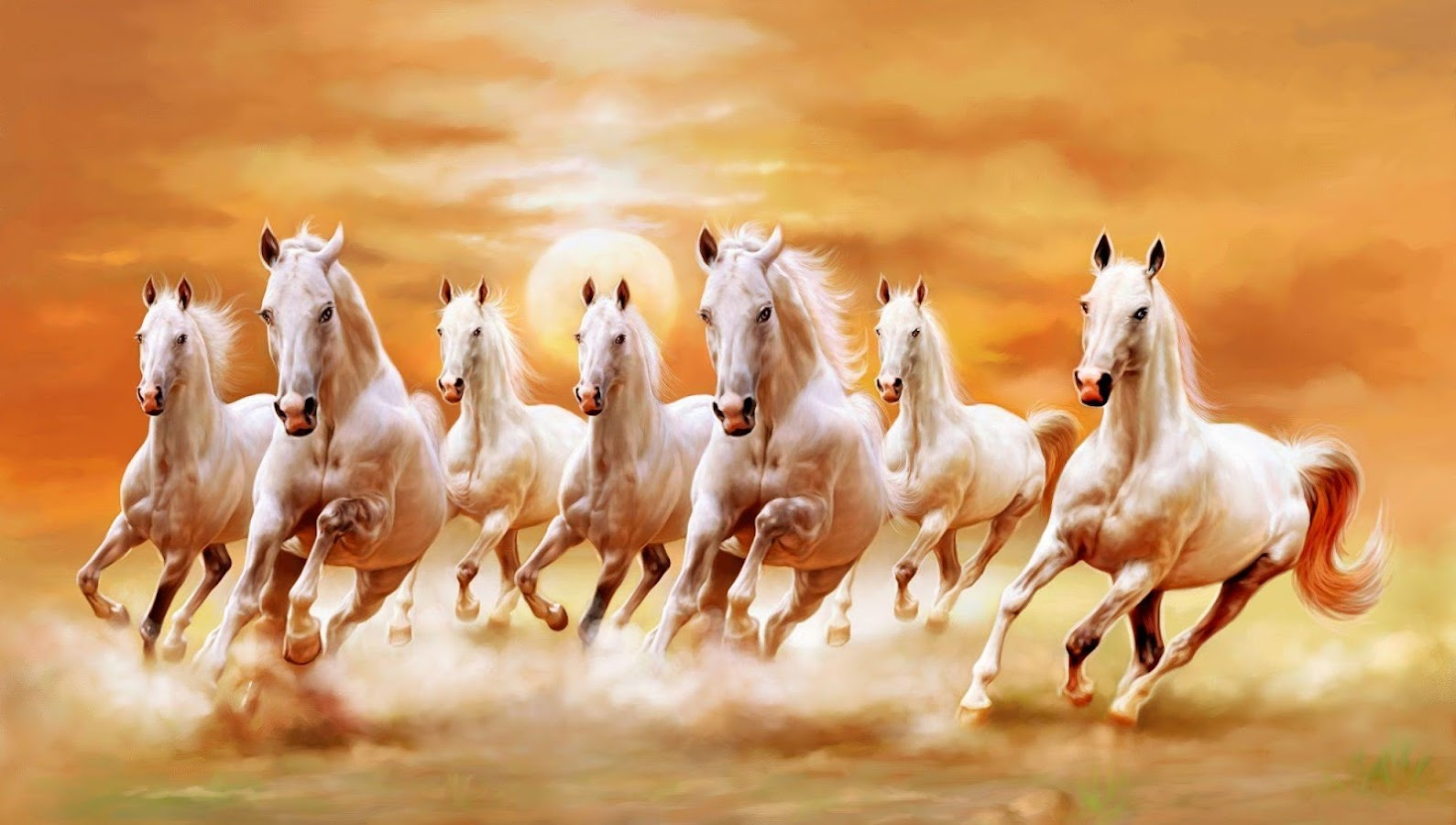 Seven Horses Wallpaper 7 117 APK Download Android
