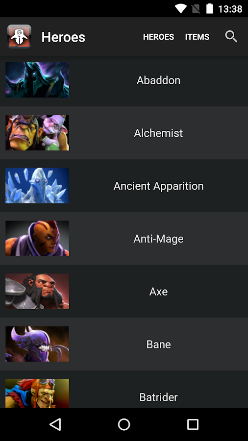 proguide for dota 2 4 8 apk download android entertainment apps