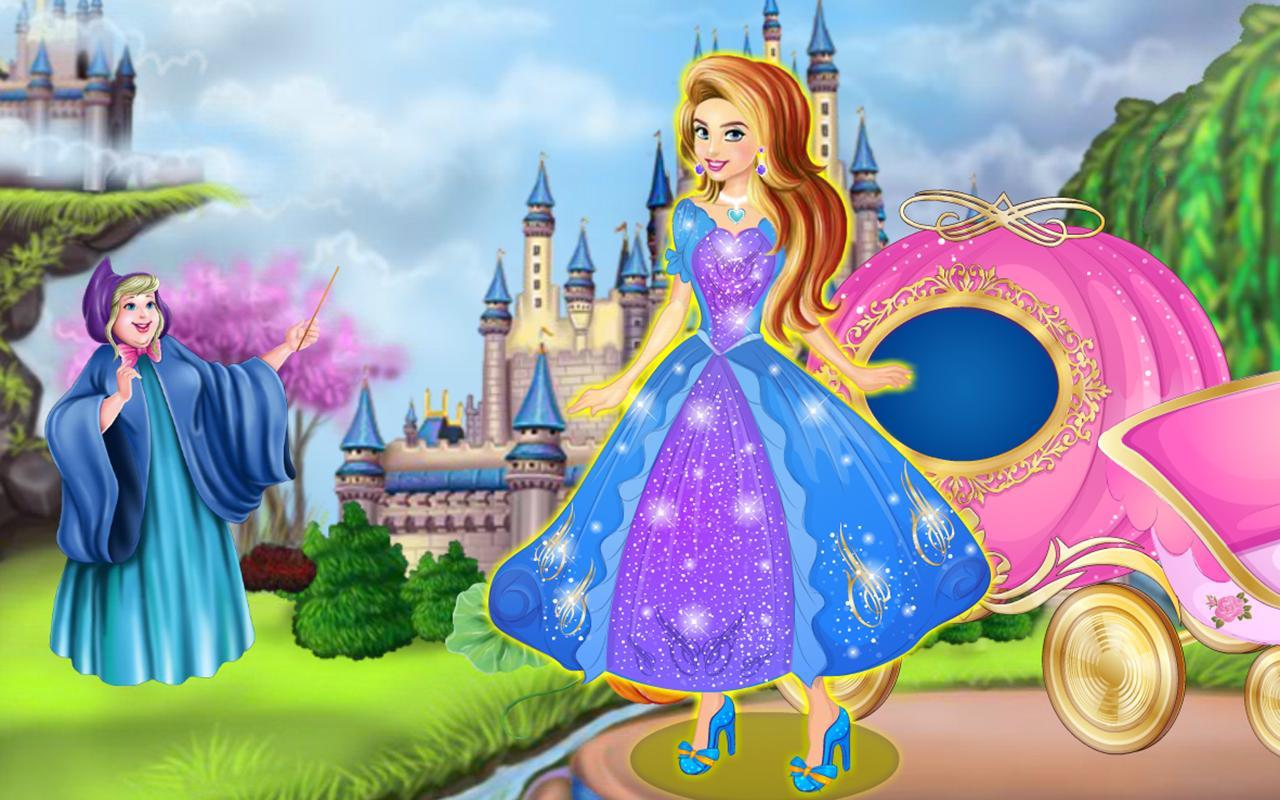 Dress up of cinderella -  Cinderella Dress Up Fairy Tale 1 1 Screenshot 16