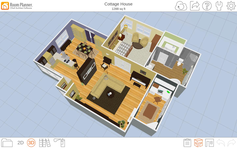 Room planner le home design 4 3 0 apk download android for Room design 3d apk