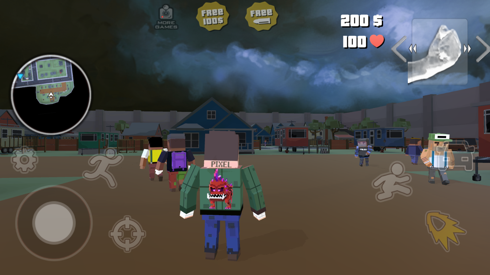 True Gangster Stories: Pixel Two Worlds 1 01 APK Download - Android