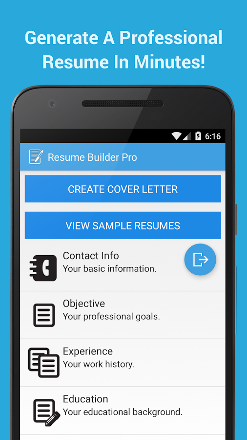 resume builder pro apk download android business apps