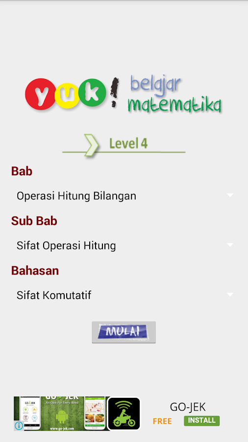 ... Bank Soal Matematika 4 SD 1.6 screenshot 2 ...
