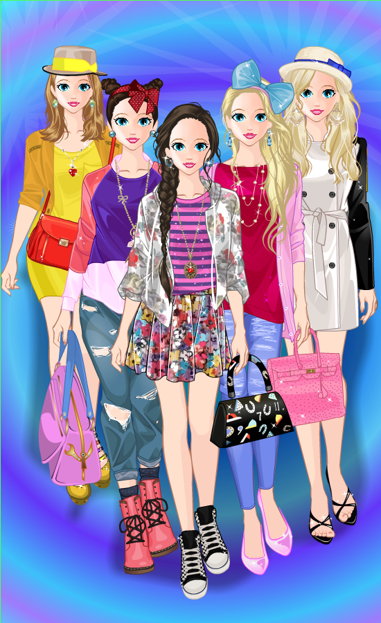 Princess Doll Fashion Dress Up 6 4 8 Screenshot