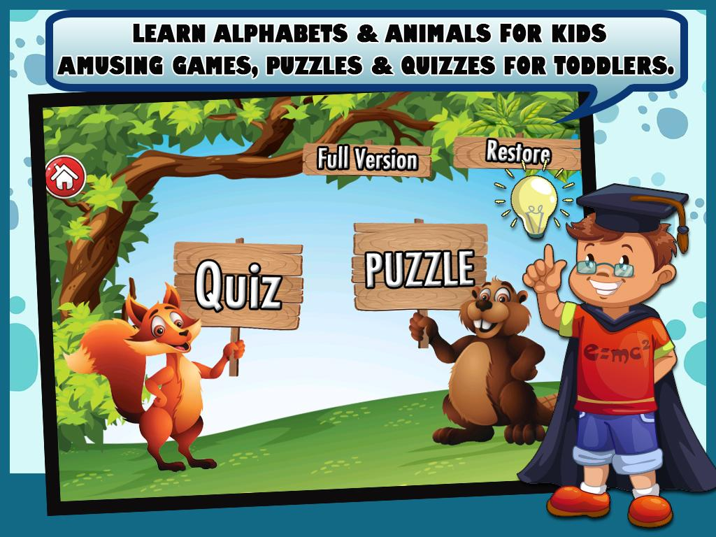 abcd for kids with animals 3 0 apk download android educational