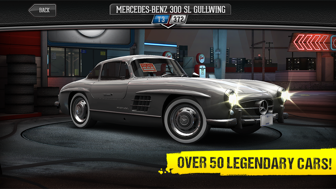 Csr classics 2. 0. 0 apk + obb (data file) download android racing.