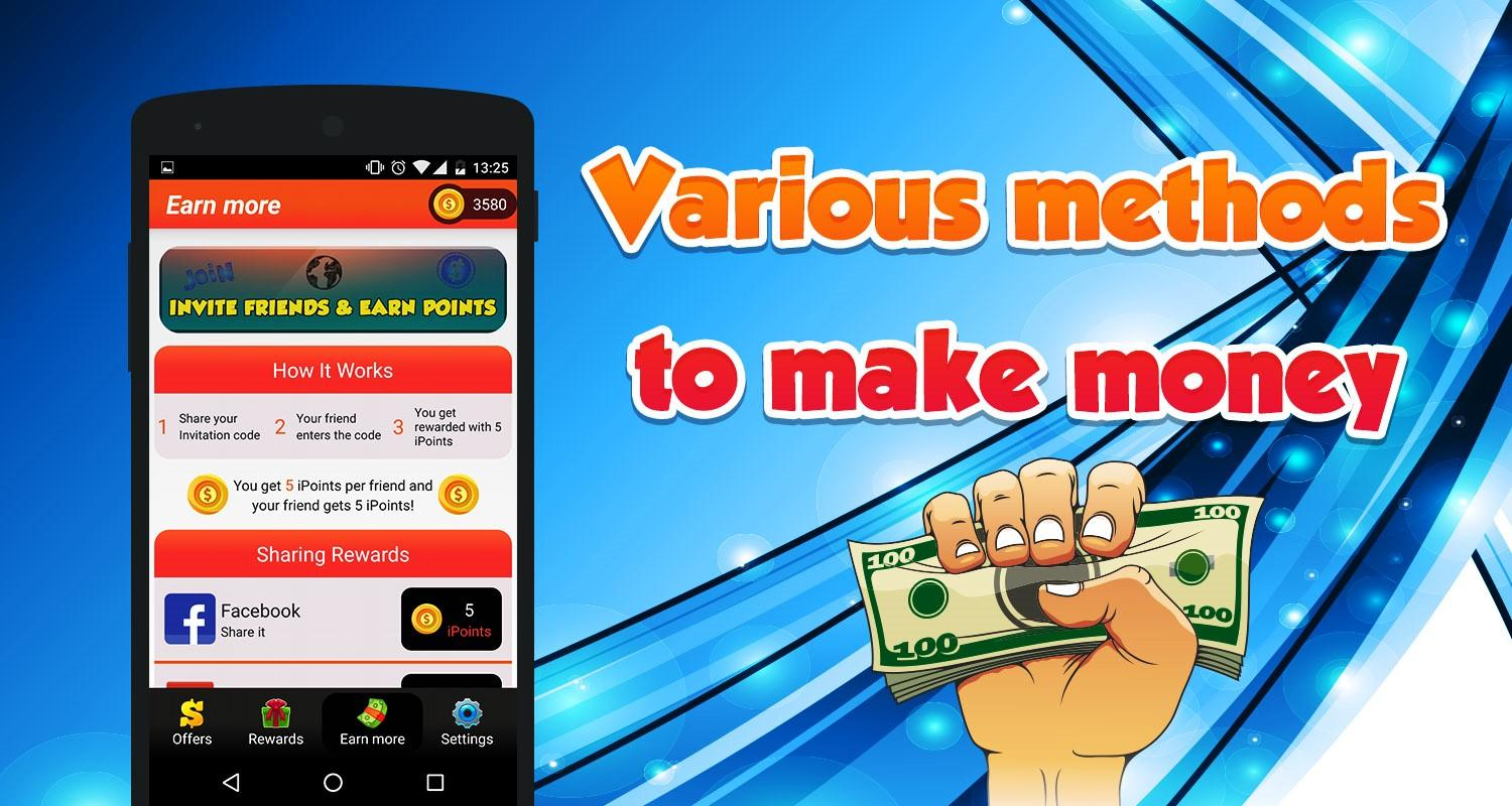 Earn Cash Free Rewards iCash 2.1 APK Download - Android ...