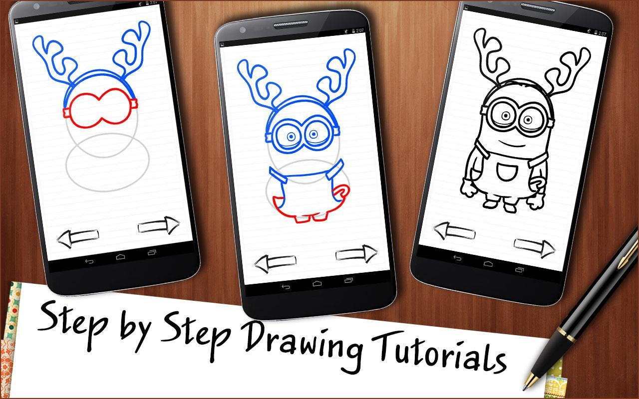 Draw Cartoons Christmas 1 0 APK Download Android