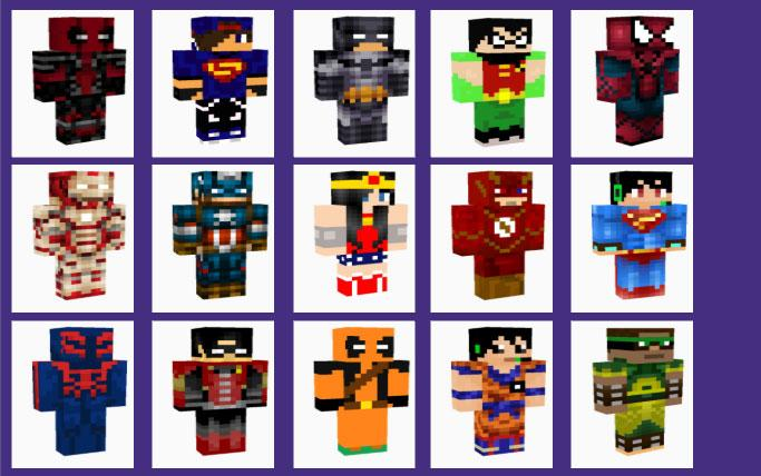 Superhero Skins for Minecraft 1.0 APK Download