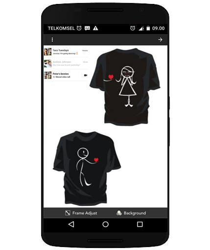 bb099cd72e Design Kaos Couple 1.0 APK Download - Android Lifestyle Apps