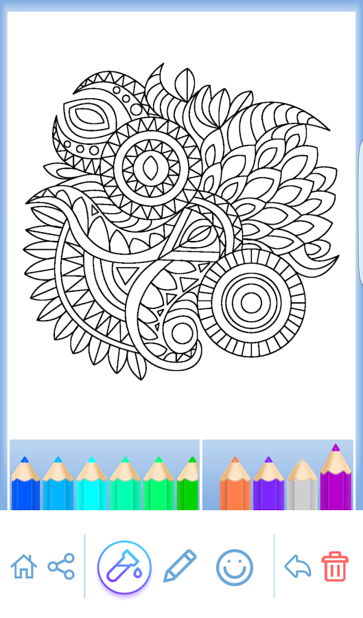 Mandala Coloring For Adults 371 Screenshot 16