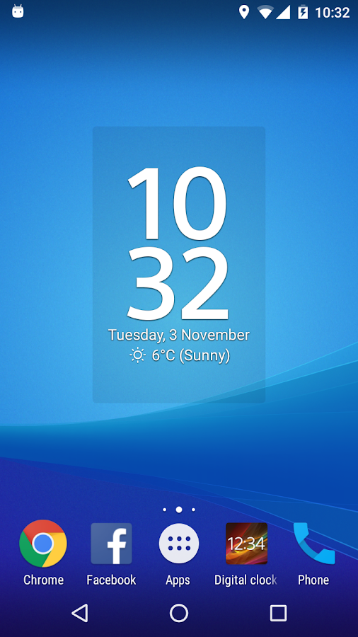 Digital Clock Widget Xperia 515236 APK Download