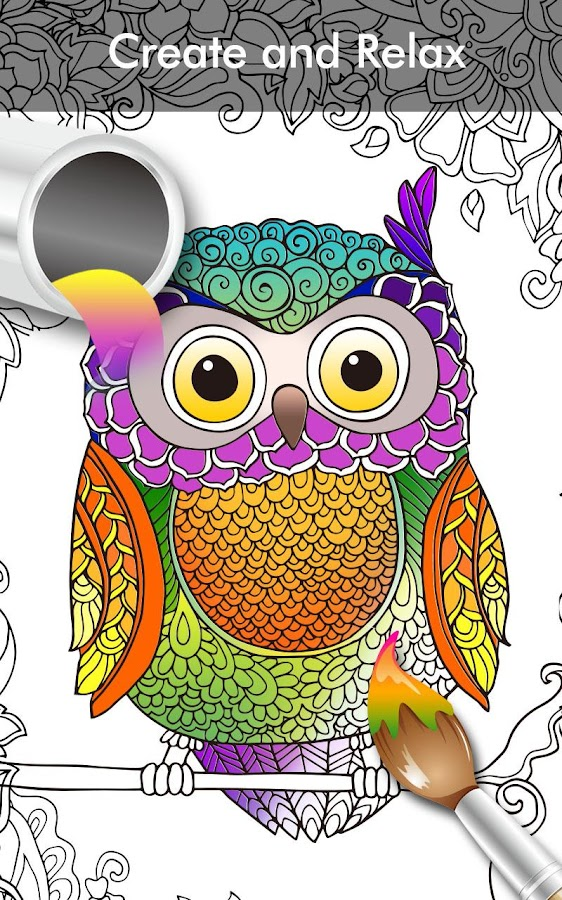 coloring book app for adults enchanted forest 22 screenshot 11 - How To Make A Coloring Book App