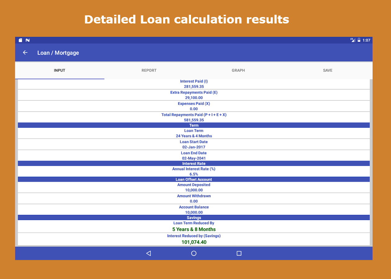 Loan interest calculator 20 apk download android finance apps loan interest calculator 20 screenshot 10 xflitez Images