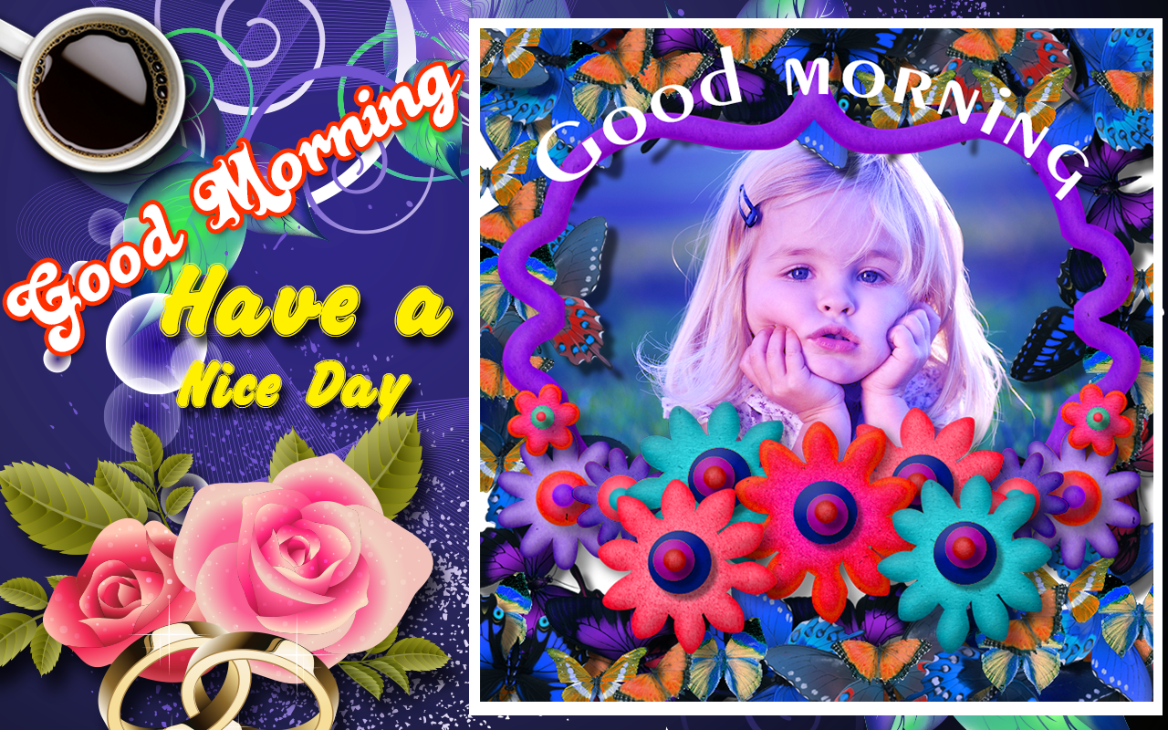 Imikimi Nederlandstalig Top good morning photo frames 1.3 apk download - android photography apps