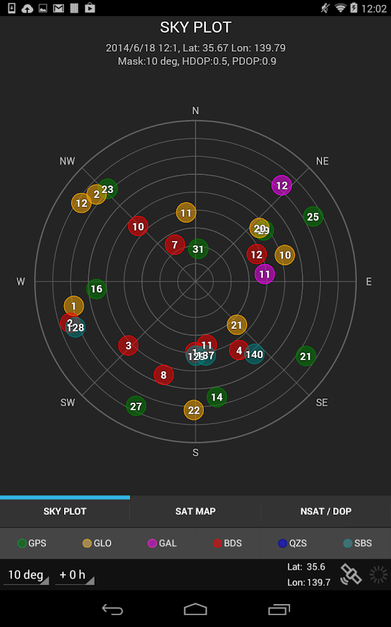 gnss radar 1 0 3 apk android tools apps