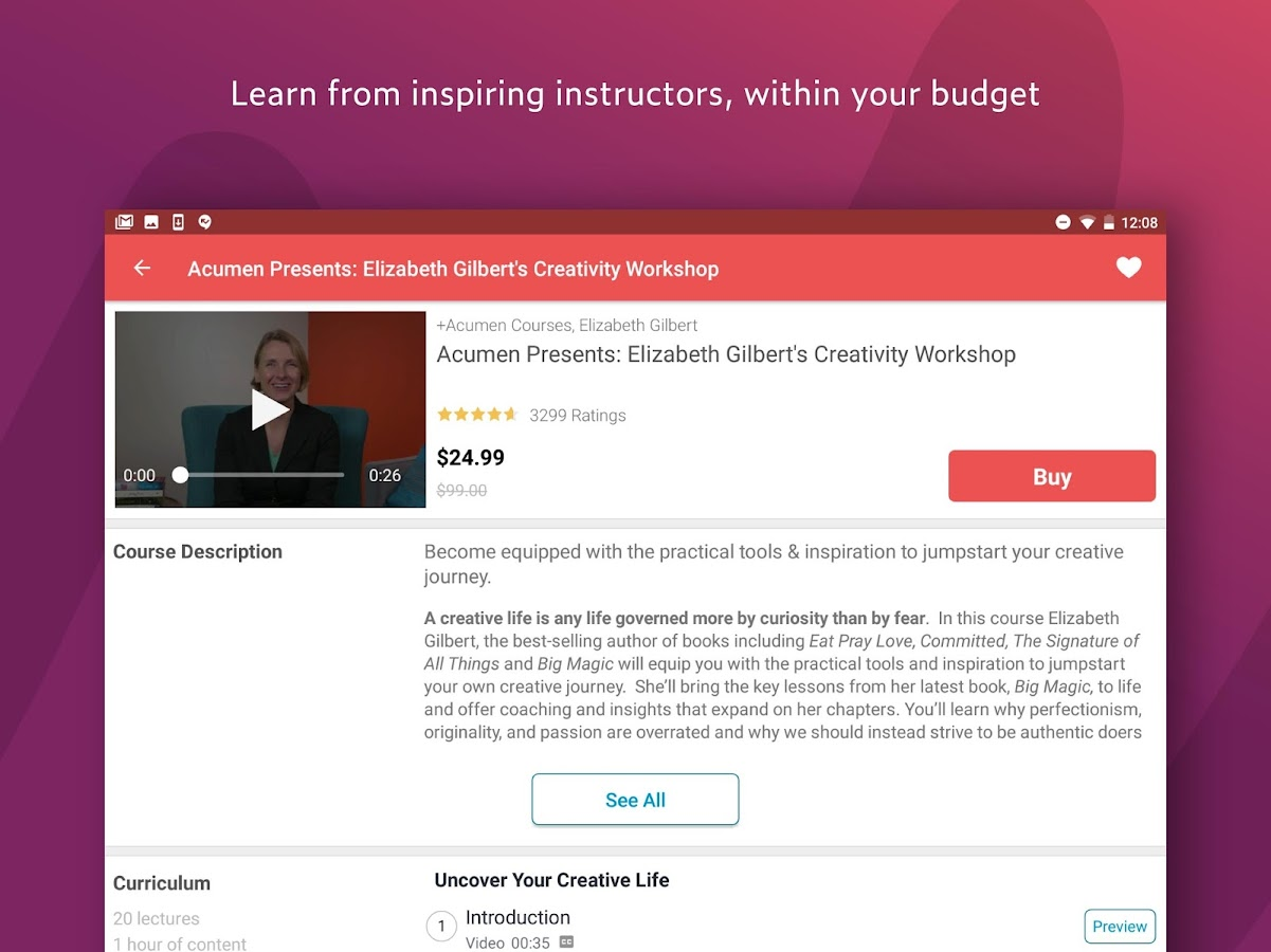 Udemy online courses 410 apk download android education apps udemy online courses 410 screenshot 7 xflitez Gallery