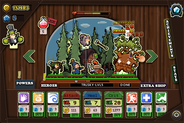 Tap Heroes - Idle Loot Clicker 4 9 APK Download - Android