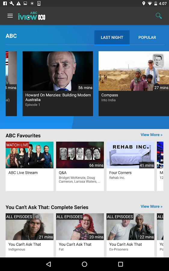 Abc iview android tv apk