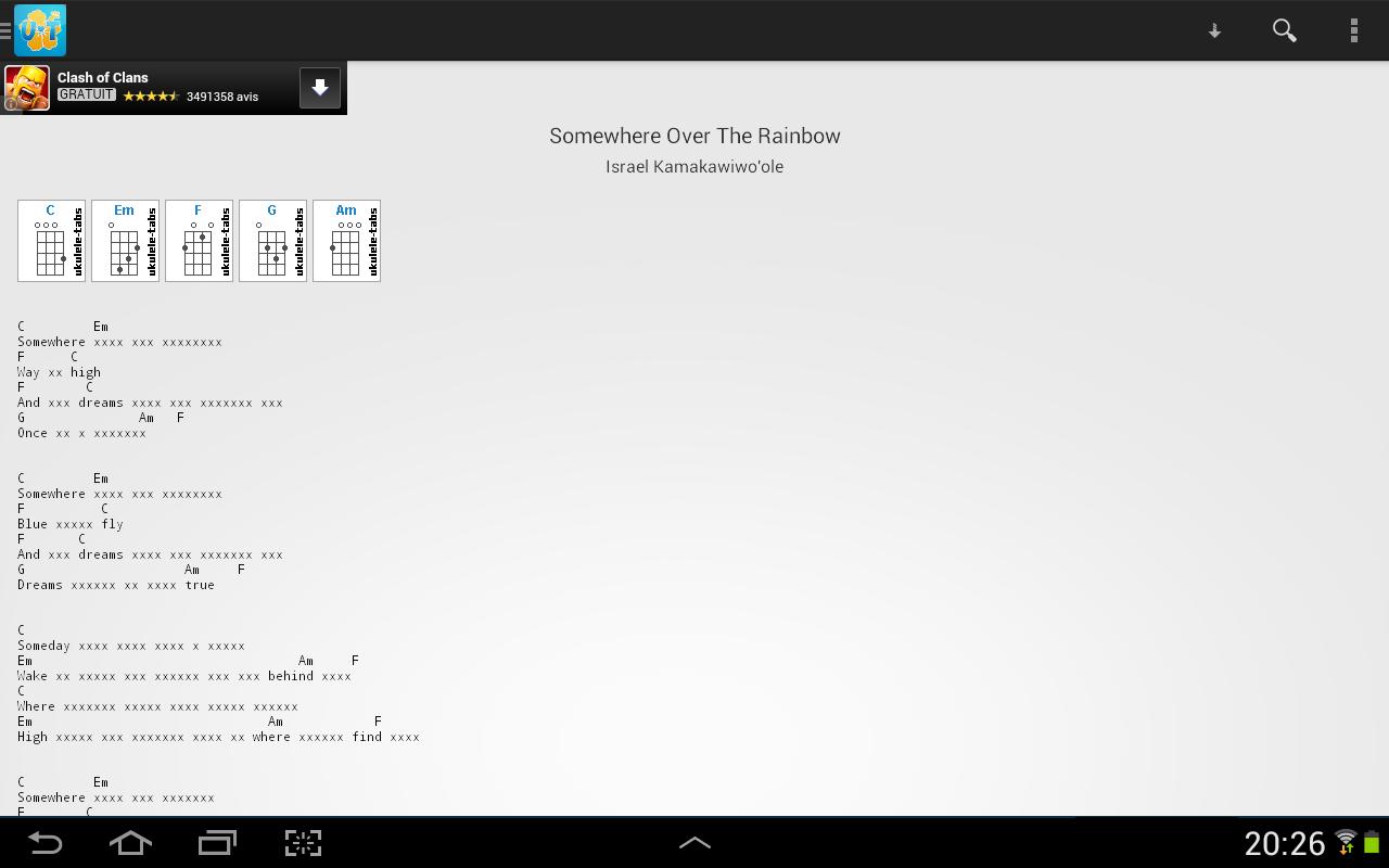 Ukulele tabs 346 apk download android music audio apps ukulele tabs 346 screenshot 8 hexwebz Images