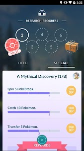 Pokémon GO 0.129.2 screenshot 3