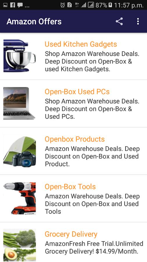 057689dd ... Amazon Offers Best Deals & Discounts Every day 1.0 screenshot 2 ...