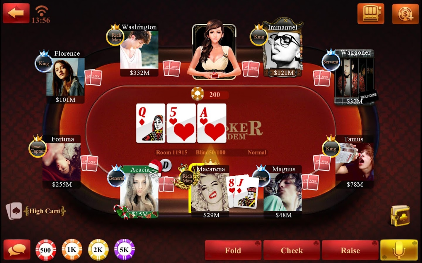 Free Poker-Texas Holdem 2.3.1.0 APK Download - Android Casino Games