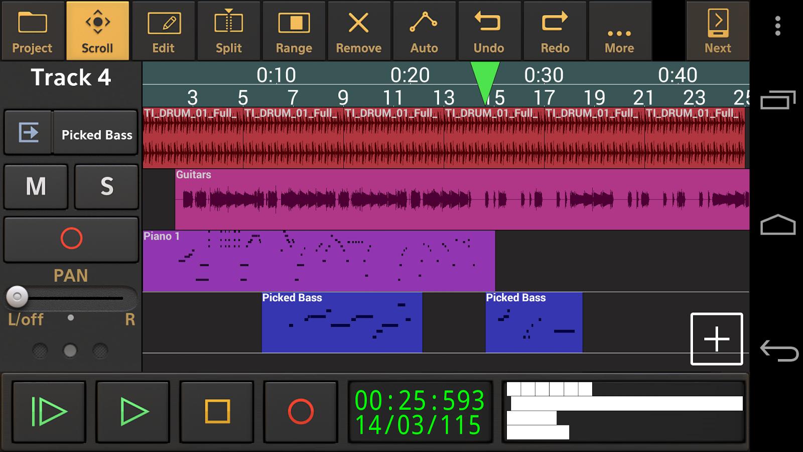 Audio Evolution Mobile Studio 4 6 2 Apk Download Android