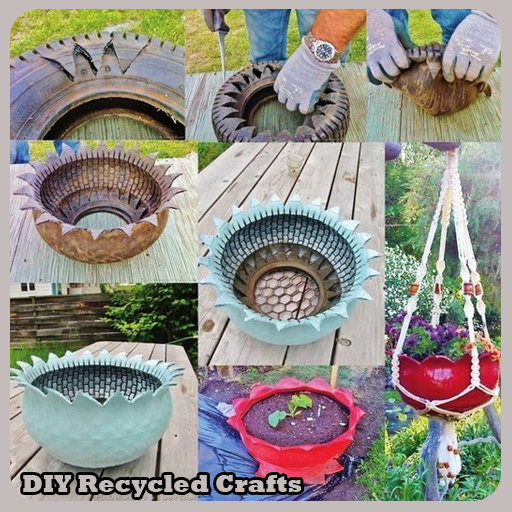 Diy recycled crafts 1 2 apk download android lifestyle apps for Diy recycle ideas
