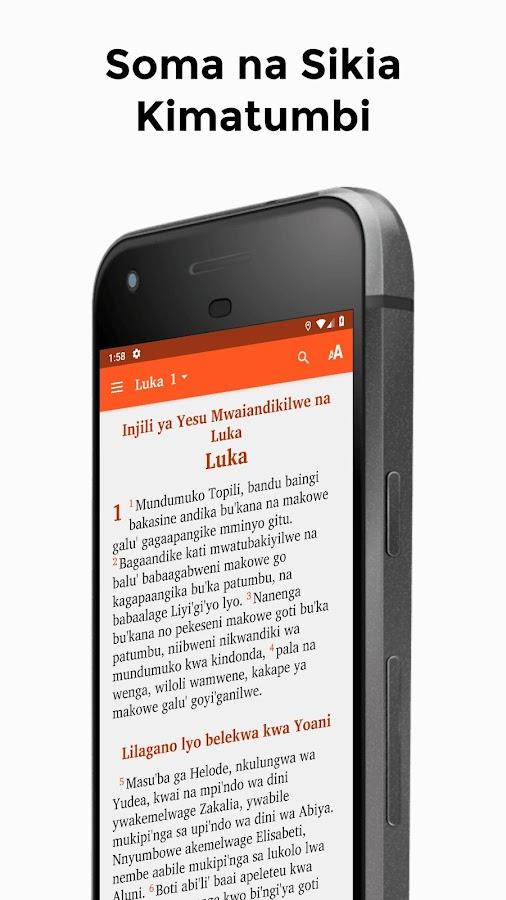 Biblia Kimatumbi Soma Lugha Yako 1 0 Apk Download Android Books Reference ئاپەکان