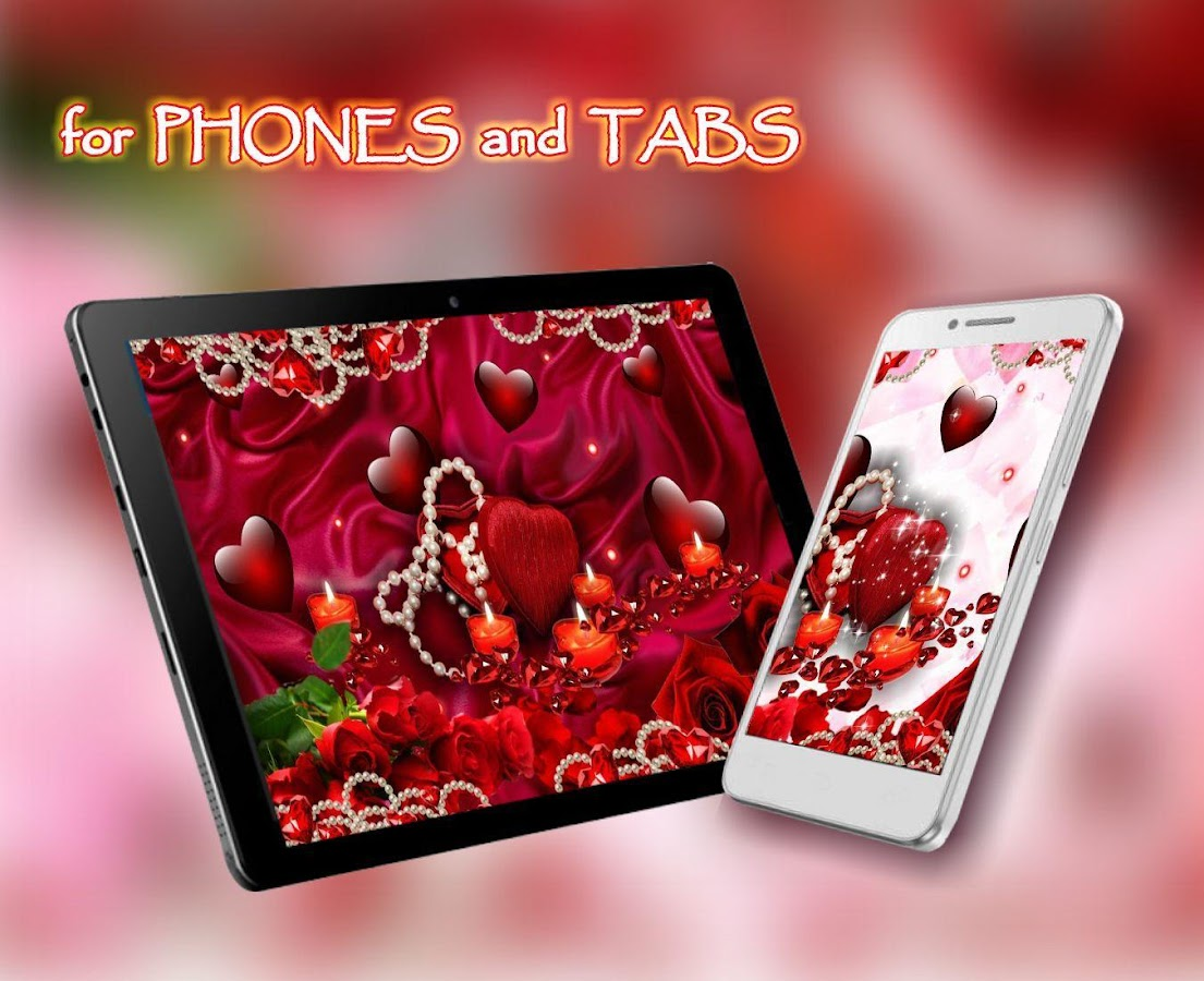 Valentines Candles Live Wallpaper 1 2 APK Download Android