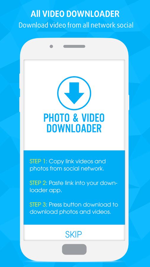 دانلود All Video Downloader 1 8 APK - برنامه های ابزار