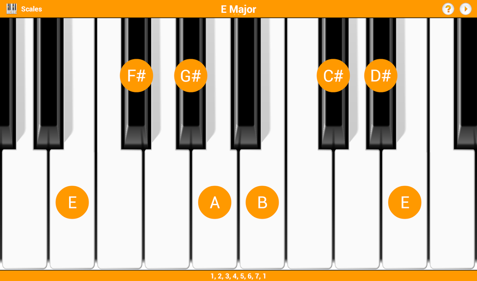 Keychord piano chordsscales apk download android books keychord piano chordsscales screenshot 12 hexwebz Images