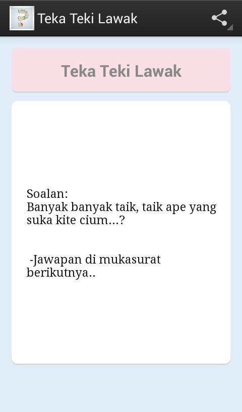 Teka Teki Lawak 2.5 APK Download - Android Entertainment Apps