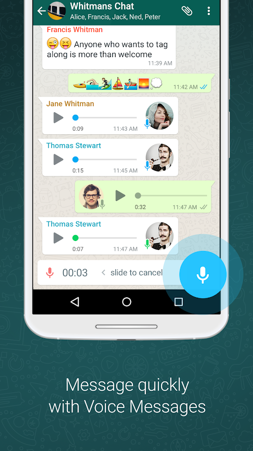 Free download whatsapp messenger apk for android